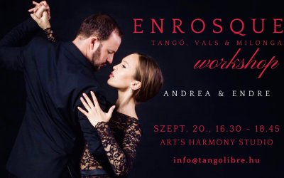 Enrosque Workshop: Tangó, Vals & Milonga